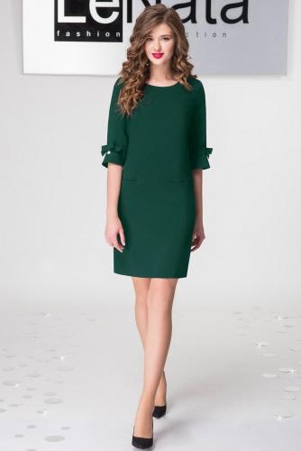 Платье Lenata 11797 / Лената 11797 зеленый
