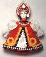 0573 Кукла-подвеска.