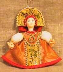 1645 кукла подвесная