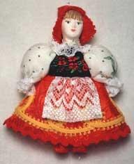 ЗАКОНЧИЛИСЬ! 0571 Кукла-подвеска.