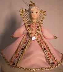 1034 Кукла подвесная.