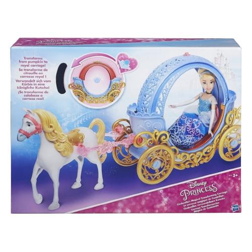 Игровой набор Hasbro Disney Princess трасформирующаяся карета Золушки (кукла не входит в набор)