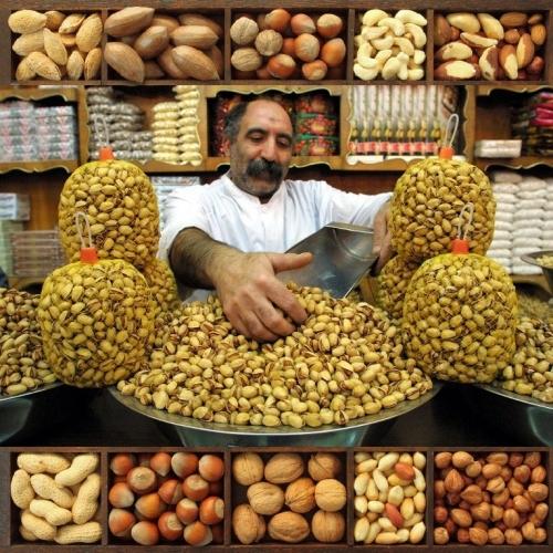 Фисташки натуральные соленые Иран