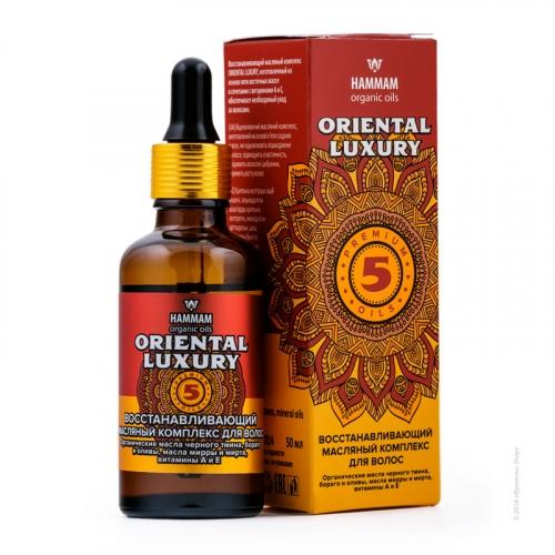 Восстанавливающий масляный комплекс для волос Oriental Luxury