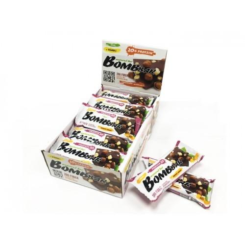 Шоколад с фундуком белковый батончик