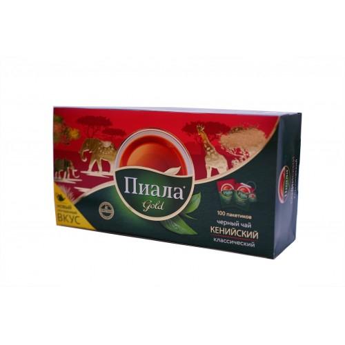 Чай Пиала GOLD классический пакет. 100*1,8 г