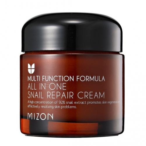Крем для лица с муцином улитки Mizon All In One Snail Repair Cream 75мл
