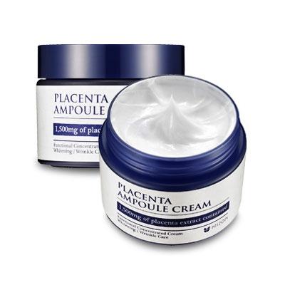 Омолаживающий крем с экстрактом плаценты Mizon Placenta Ampoule Cream 50мл