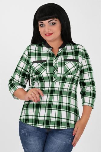 СИМАН 4976 Рубашка зеленый