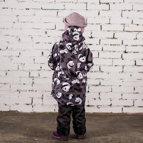 Ветровка Стиляга  Расцветка: Панды/серый
