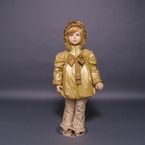 Комплект Принцесса  Расцветка: Золото/бежевые брюки