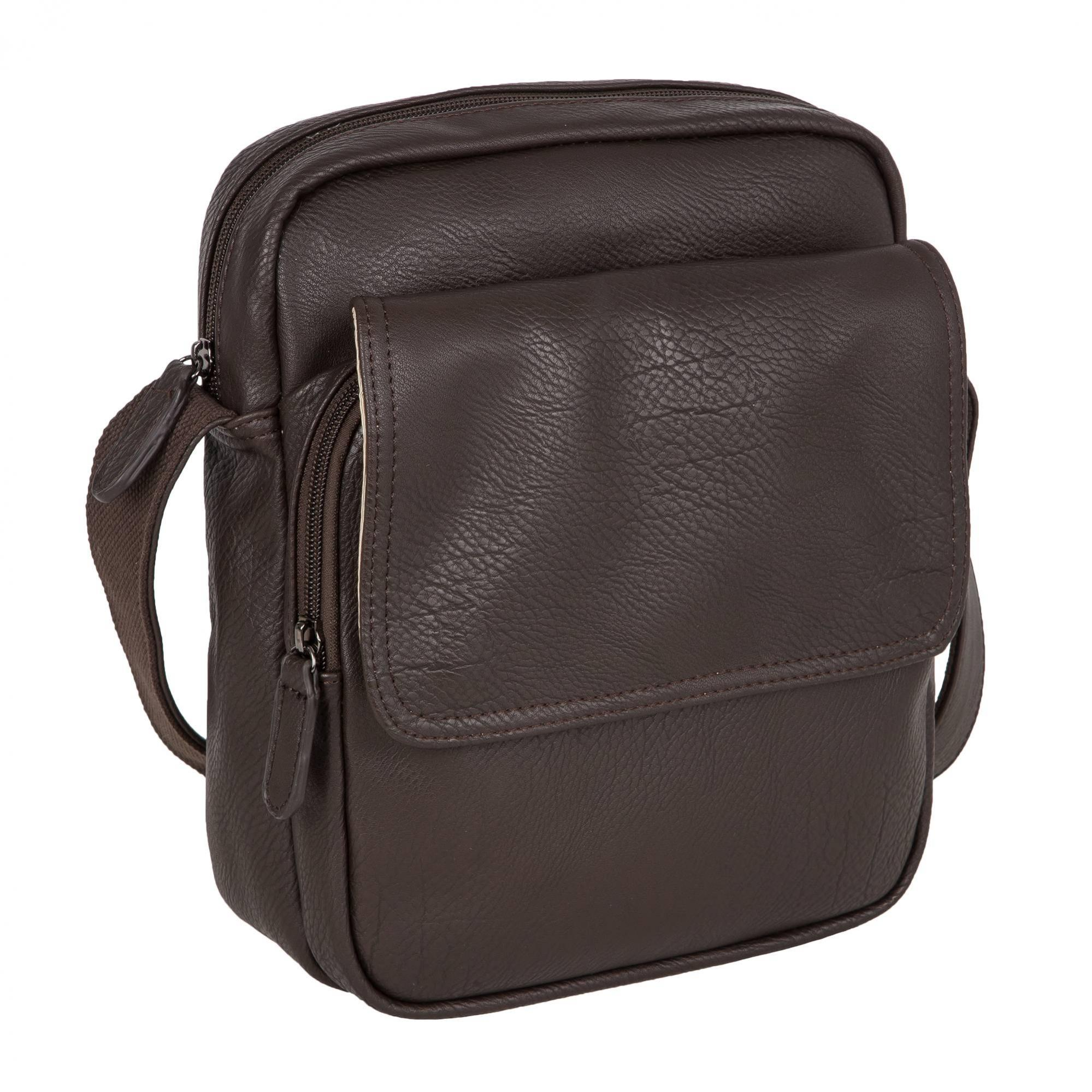 ce918cdbbe55 Молодежная сумка 3138 Black. Кожа