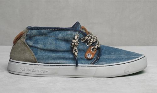39,5евро.   10150руб ррц.Кеды Satorisan 141001/P116 Linen / Jeans