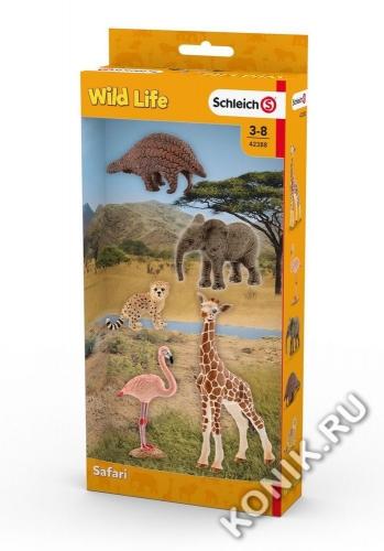 Набор Животные дикой природы