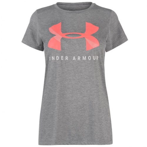Tech Logo SS T Shirt Ladies