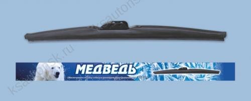 Щётка стеклоочистителя Медведь ЗИМНЯЯ, графитовое покрытие, WS-19 (480 мм)