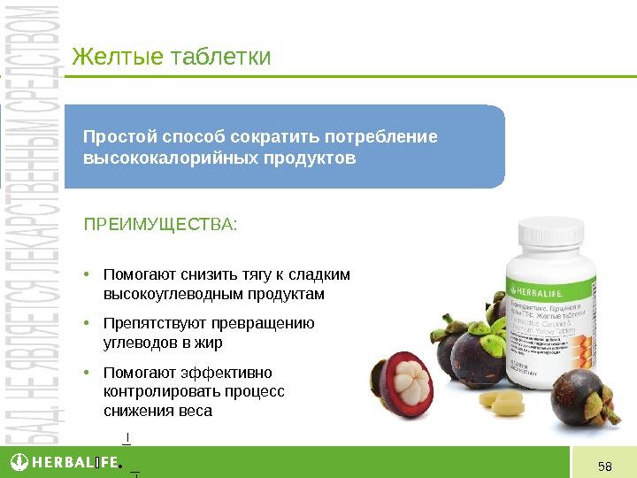 Как похудеть с таблетками гербалайф
