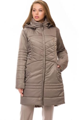 Утепленное пальто #70186