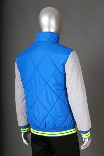 Куртка PEAK F554337 син/сер