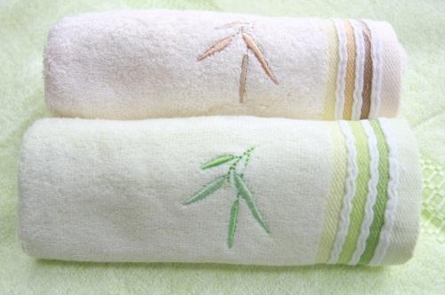 РАСПРОДАЖА!! DT-23 Полотенца из натурального бамбука в упаковке 30*50*2шт
