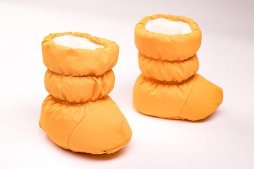 Пинетки-дутики  Расцветка: Желтый