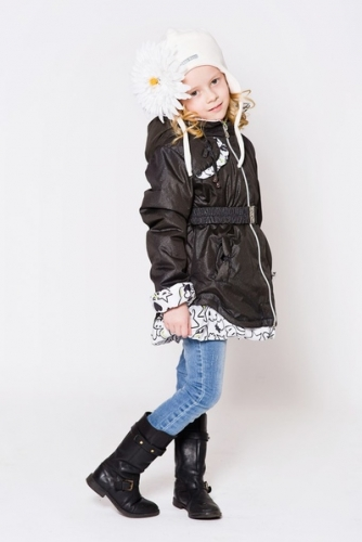 Пальто «Джаз»  Расцветка: Черный