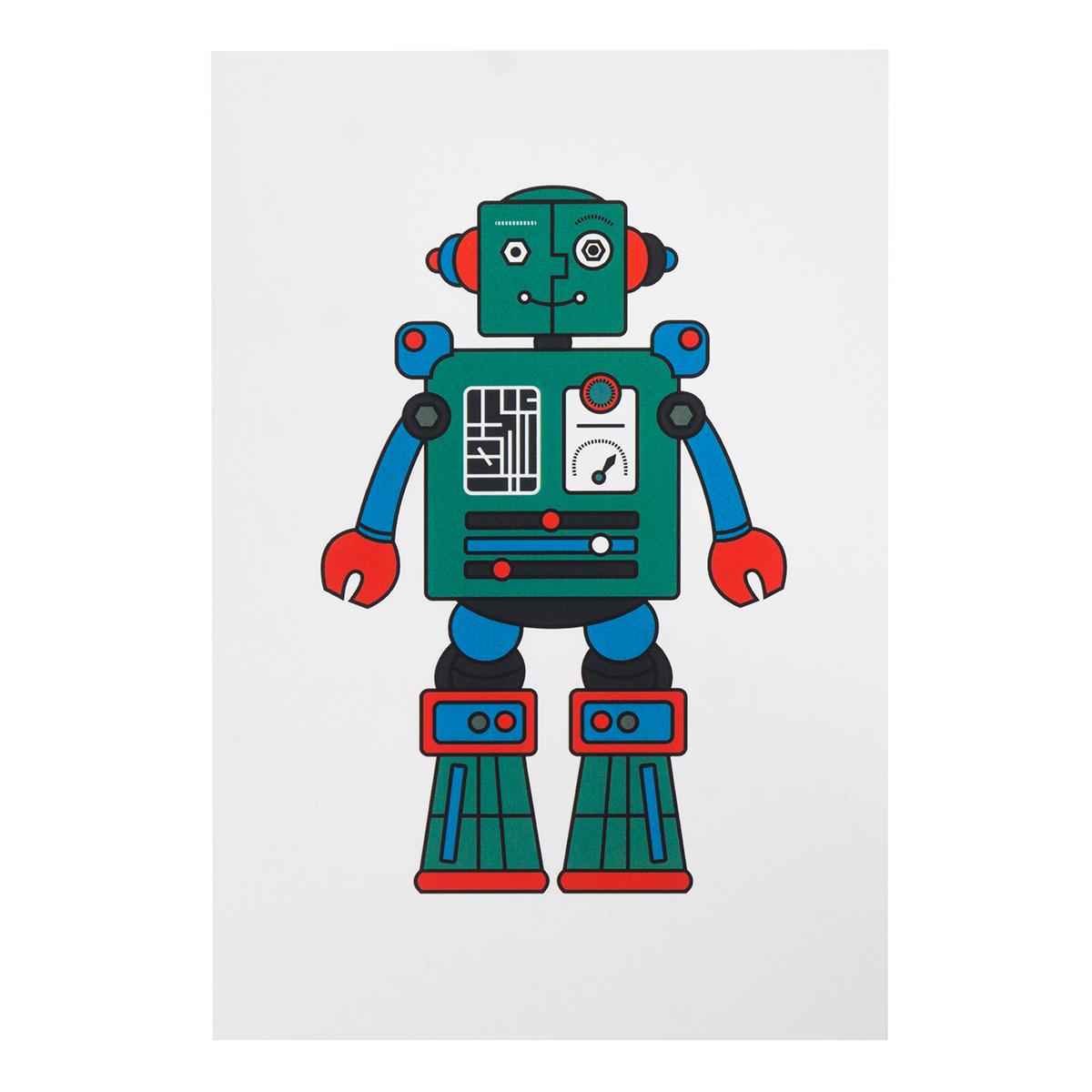 Открытки с роботами своими руками