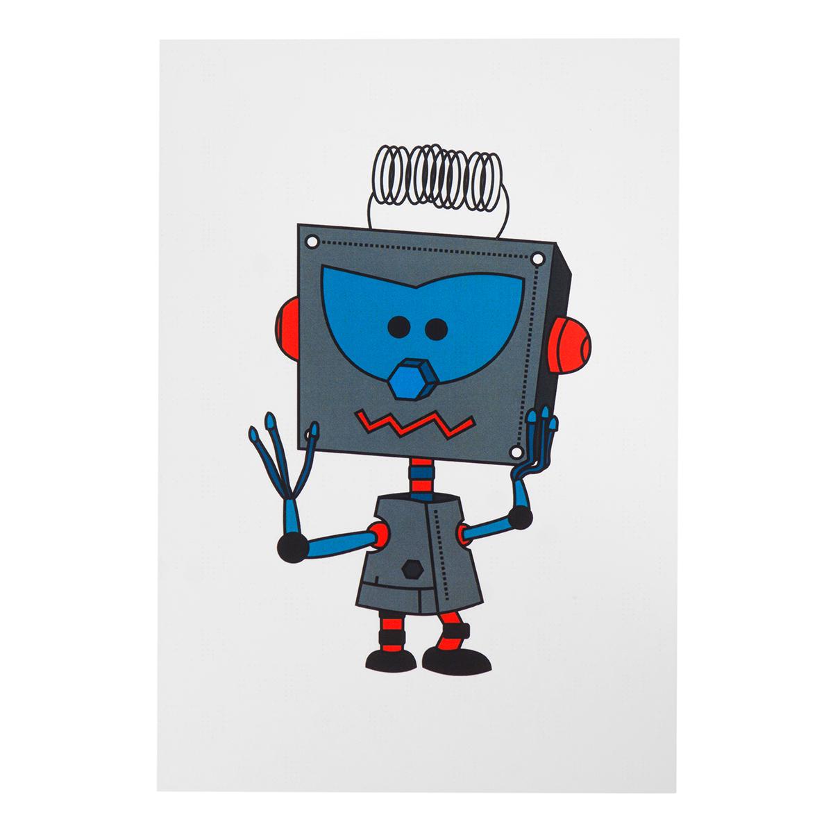 Роботы открытки, выздоровления картинки надписью