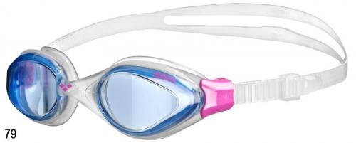 1118р. 1421р.Очки для плавания ж FLUID WOMAN blue/clear/fuchsia (20)