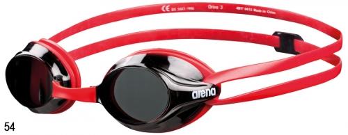 Очки для плавания DRIVE 3 red/smoke (20)