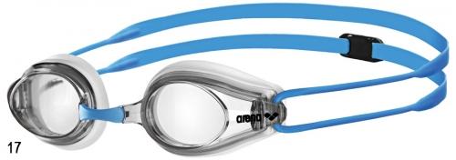 Очки для плавания TRACKS JR clear/clear/light blue (20-21)