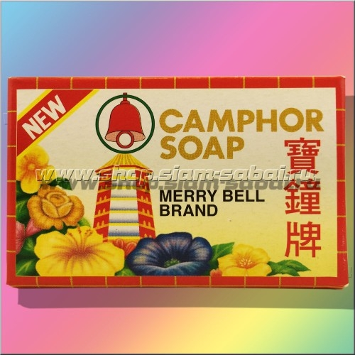 Камфорное безсульфатное мыло Мерри Белл. 80