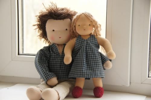 Вальдорфские куклы FamilyLook