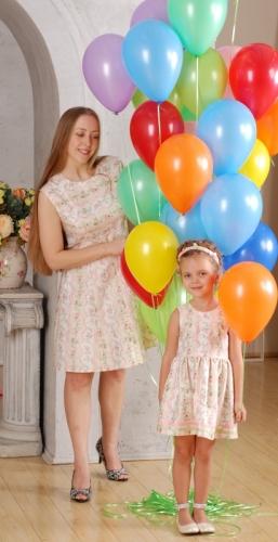 Платье Русское барокко Розы