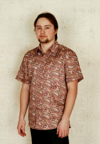 Мужская рубашка Русское барокко - Пейсли
