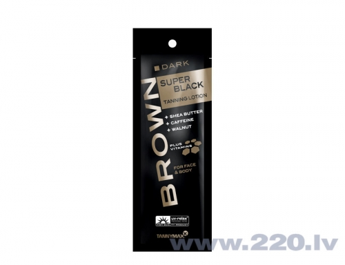Brown Super Black Tanning Lotion 15 мл