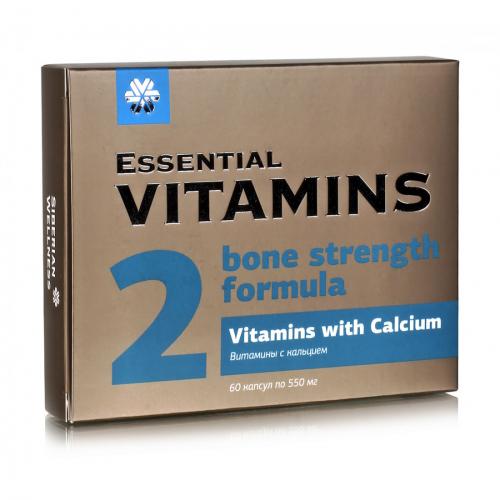 Витамины с кальцием - Essential Vitamins