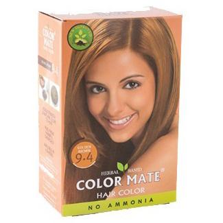 Краска для волос COLOR MATE Heir Color (тон 9.4, золотисто-коричневый)