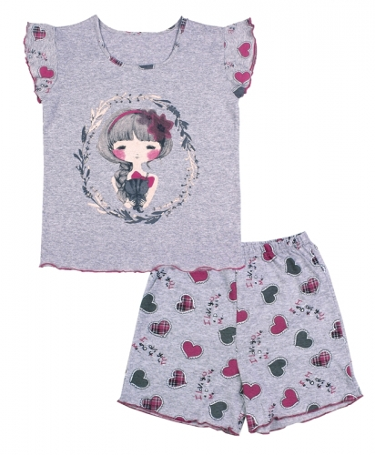 [489352]Пижама для девочки ДНЖ353002н
