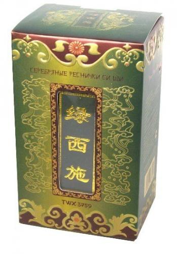 Чю Хуа_Серебряные реснички Си Ши, зелен. 100г жб_333 руб+%