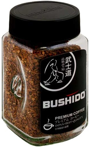 Кофе Bushido  BLACK Katana, крист., ст/б 100г*9
