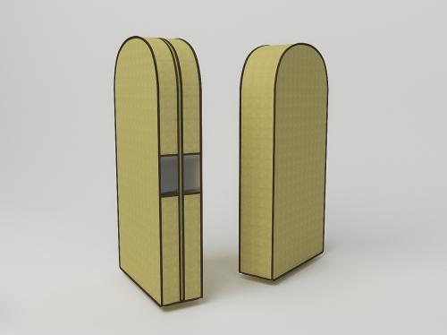 Чехол двойной для одежды малый, 60х100х20см