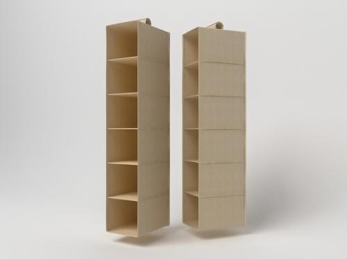 Подвесной кофр органайзер для обуви и бытовых мелочей Открытый 120х22х30см