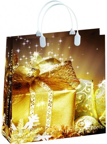 Подарочный пакет BAS 55 (НГ-золотой подарок)