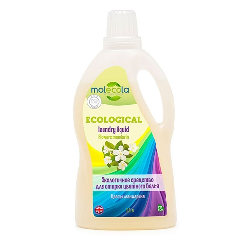 Экологичный универсальный гель для стирки цветного белья