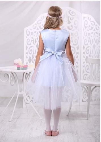 Платье Карамель А 17-3 голубой