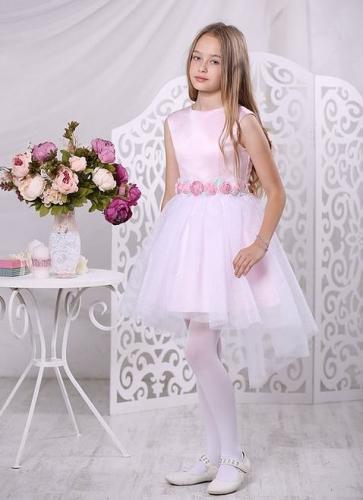 Платье Карамель А 17-3 розовый