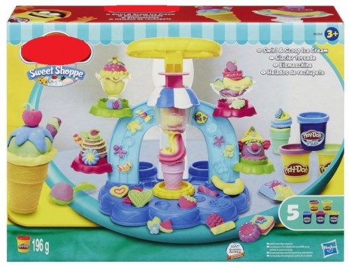 Игровой набор с пластилином Фабрика Мороженого  (копия)