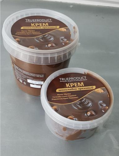 Ореховая паста термостабильная. Caravella Ante-forno Hazelnut  - пр-во Италия (8% нат. лесной орех)