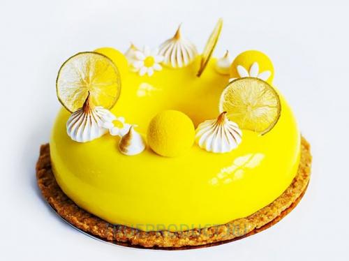 Зеркальная бесцветная гель-глазурь Mirall Limone со вкусом лимона